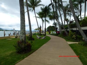 Promenade am Trinity Inlet in Cairns, QLD