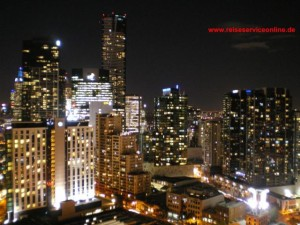Melbourne by night, Eureka Tower